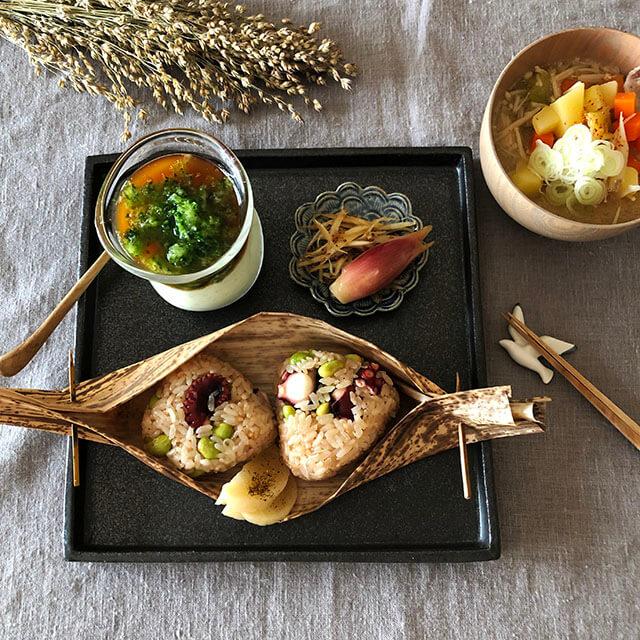 夏休み中「豆腐」